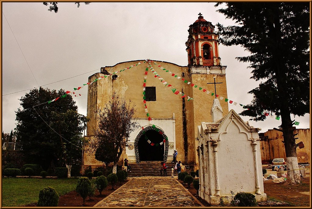 Ex Convento de Santo Domingo de Guzmán (Hueyapan) Estado d