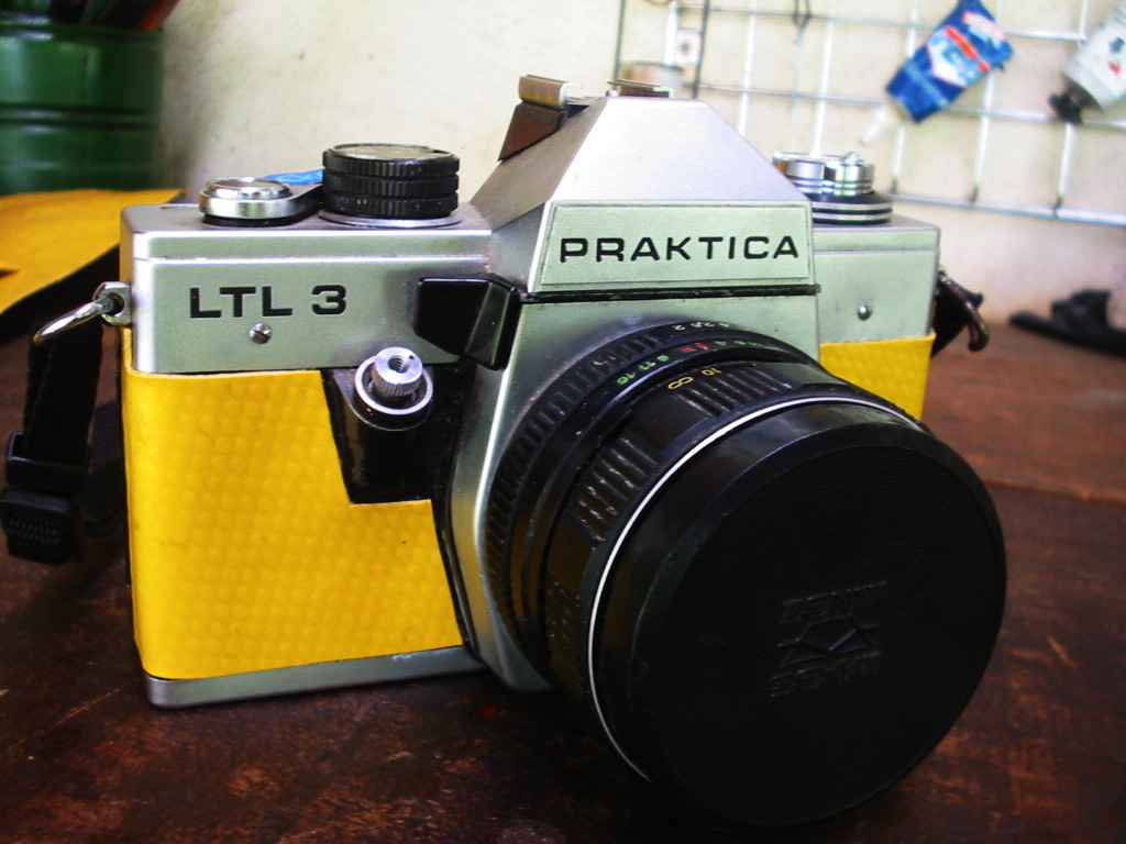 Praktica ltl3 with tarpaulin leather more information: minu2026 flickr