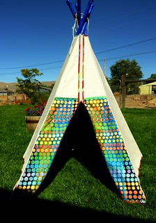 teepee flap open | by ericaeli