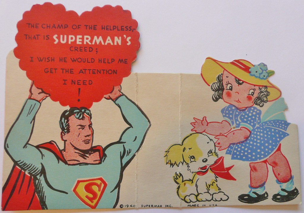 VALENTINE SUPERMAN 1940 | Frank Kelsey | Flickr