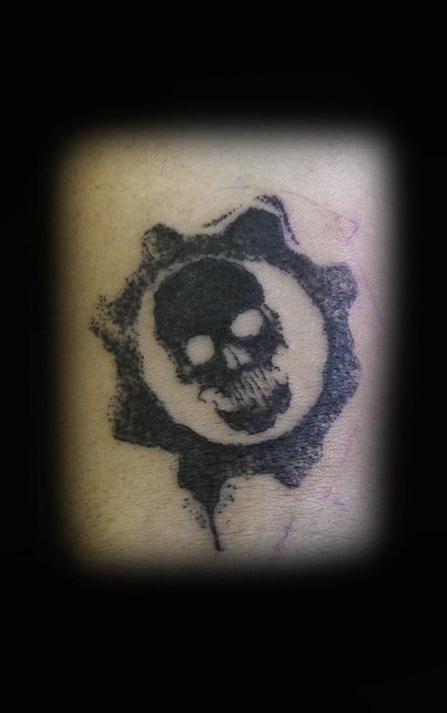 Gears of War Tattoo by ray Tutty | tattoo studio | Flickr