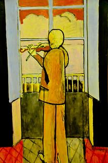 Henri matisse le violoniste a la fenetre 1918 at centre for Henri matisse fenetre