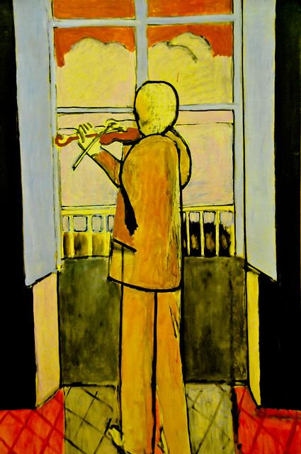 henri matisse le violoniste a la fenetre 1918 at centre