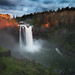 Last Light at Snoqualmie Falls