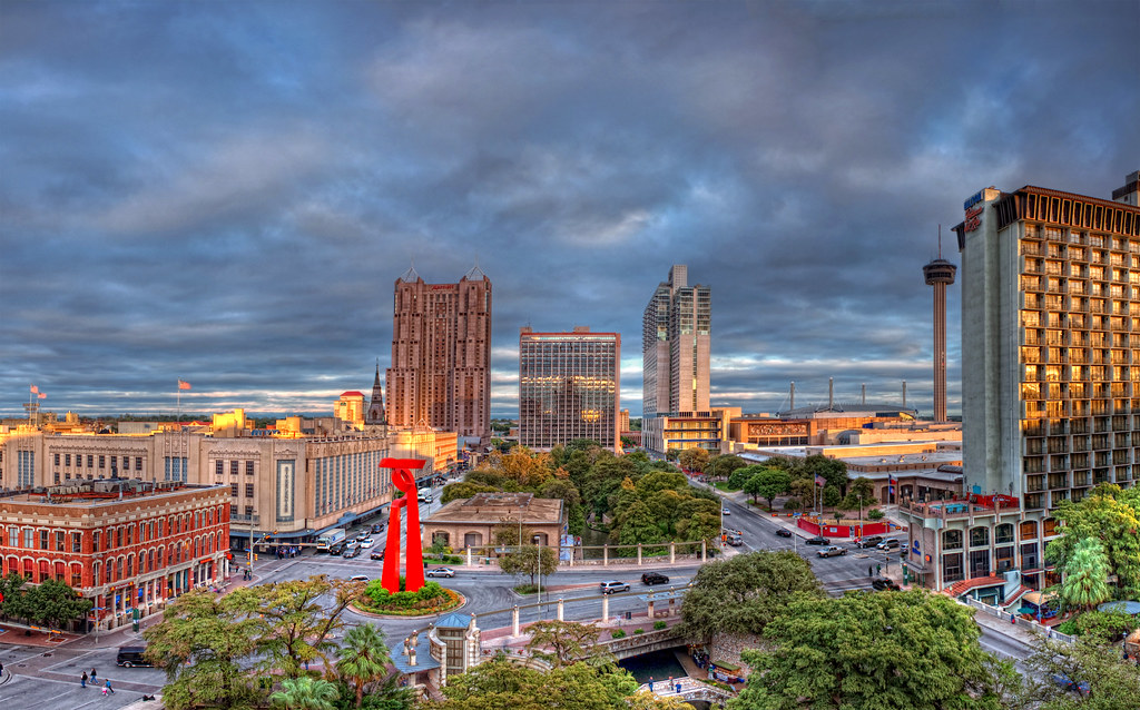 San Antonio Downtown Pano As Some Of You May Remember