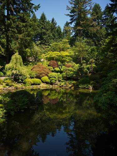 The Japanese Garden In Washington Park Portland Or Flickr