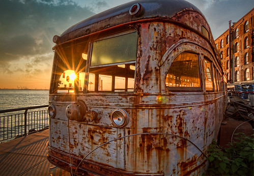 Trolly Car, Red Hook, Brooklyn, NYC | by AndrewJohn2011
