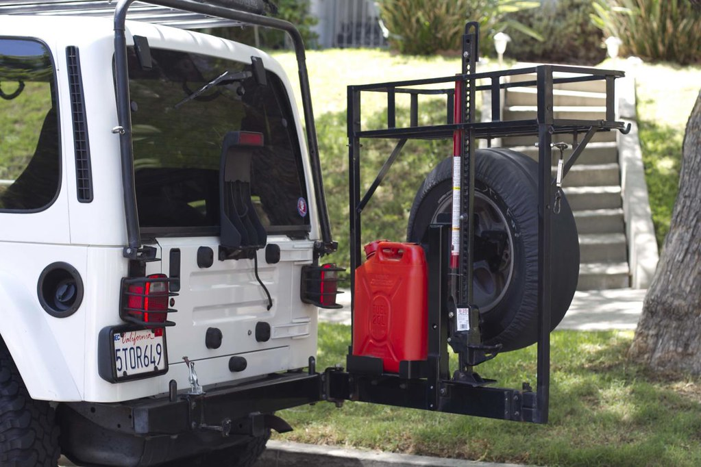 Jeep Wrangler Seat Covers >> FOR SALE - JEEP TJ SAHARA (rear rack/bumper system) | Flickr