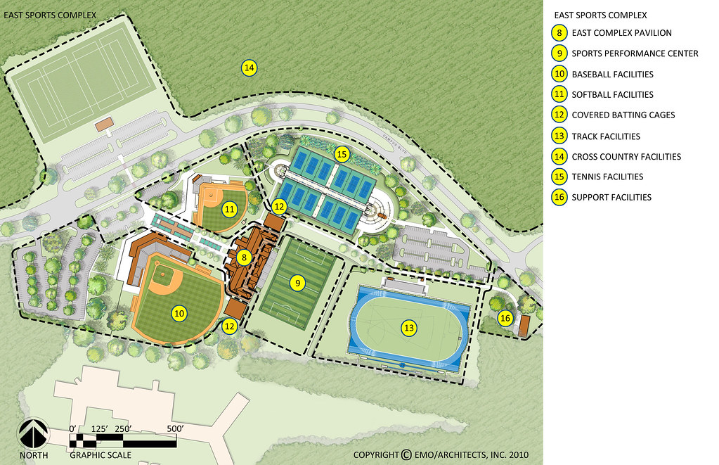 Proposed Uwf East Sports Complex 2d Plan Labeled Flickr
