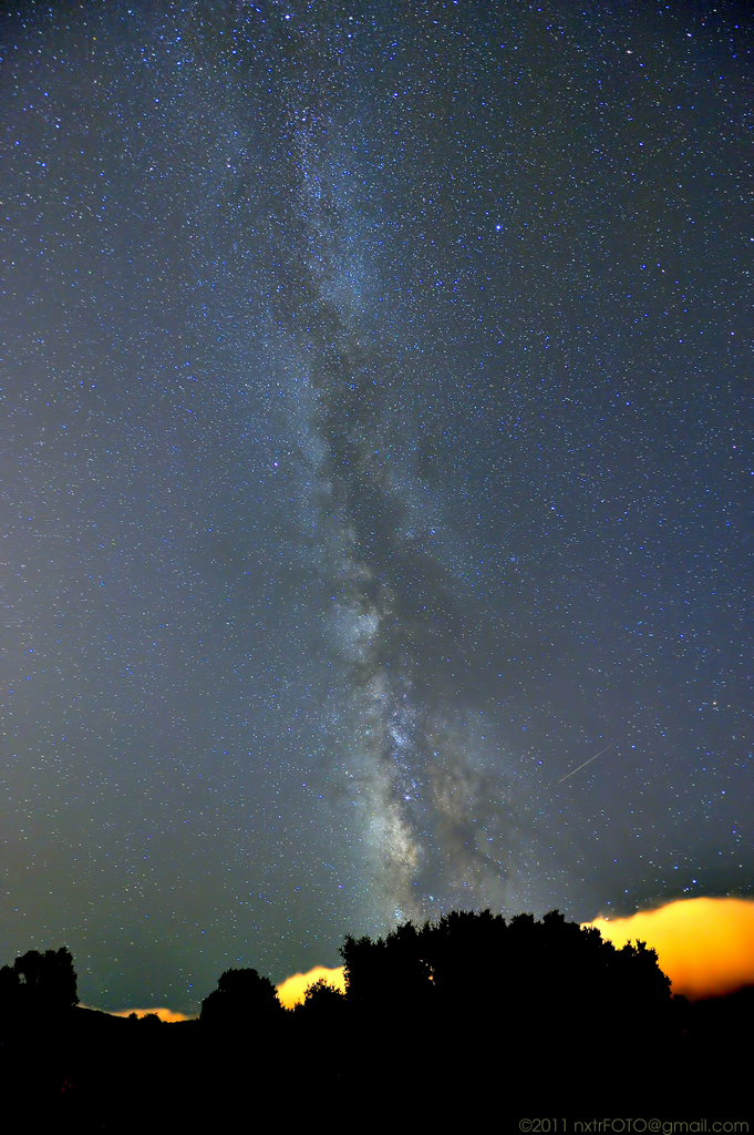 Milky Way Over The Sf Bay Area Some People Say The Milky