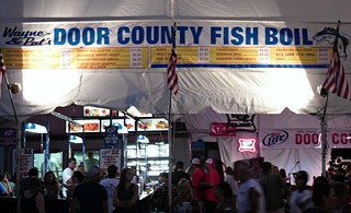 Fish boil from door county wisconsin state fair for Fish boil door county