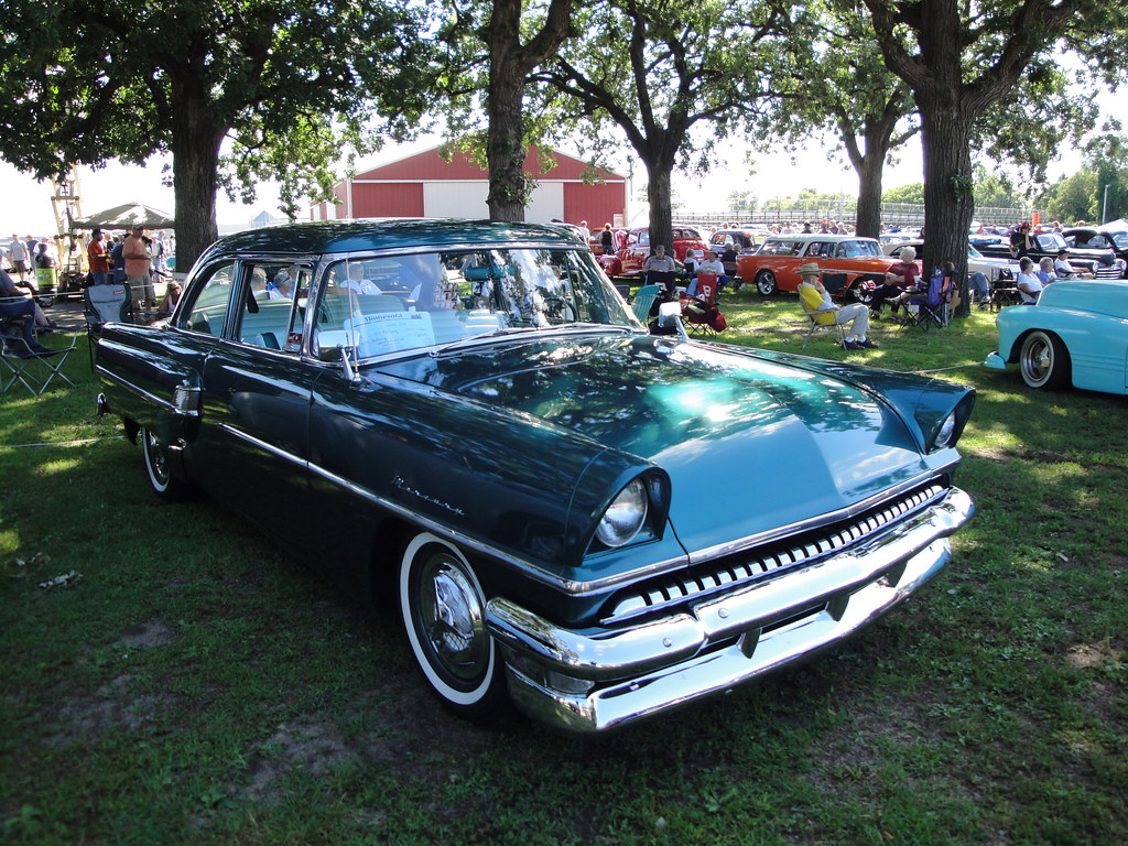 55 Mercury Monterey The Pantowners Annual Car Show And