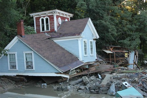 Damage after Hurricane Irene | by U. S. Fish and Wildlife Service - Northeast Region