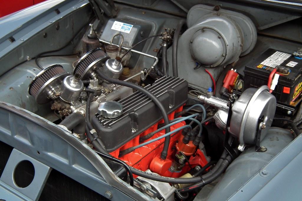 Volvo 122 S Sedan Volvo 122 S Sedan Engine Taken At