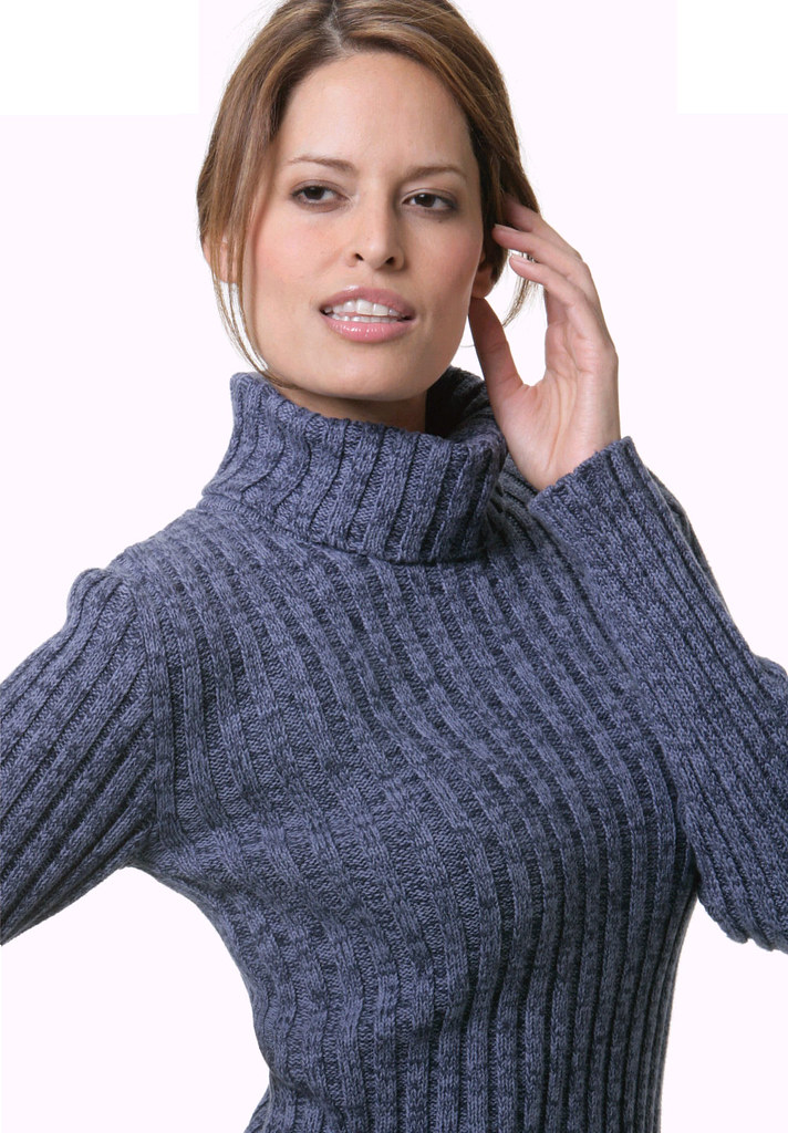 Womens Ribbed turtleneck sweater | Mytwist | Flickr