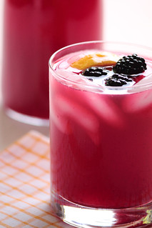 Blackberry Lemonade | by pastryaffair