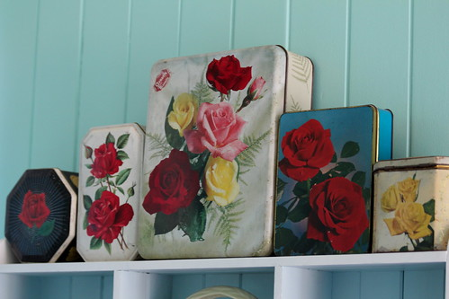 Vintage rose tins. | by Crazy House Capers