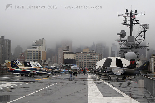 Intrepid deckview and no NY skyline due weather!!!! | by JaffaPix +3 million views-thank you.