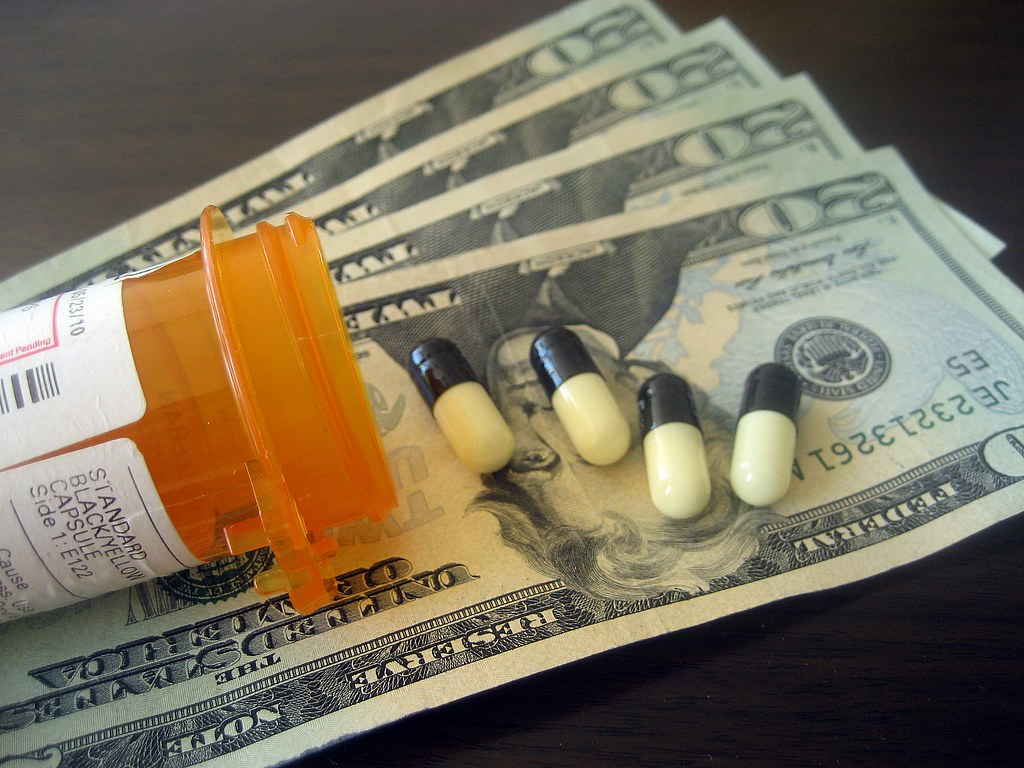 Image result for prescription drugs and money