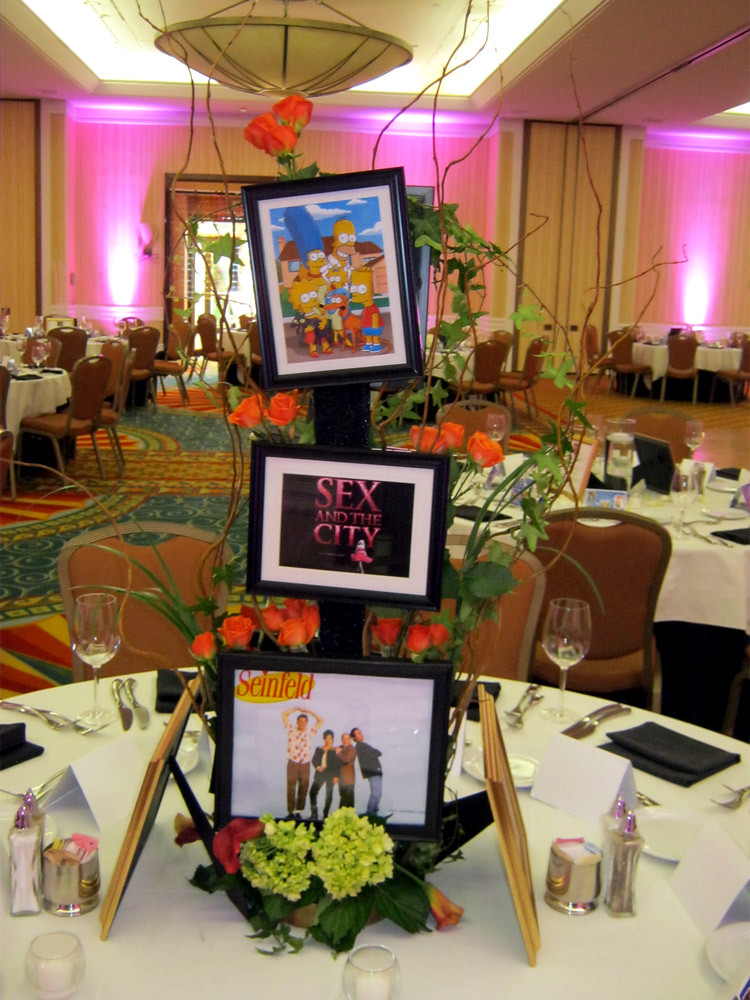 90s Theme Centerpiece Entertainment Decor By Sixth Star Flickr
