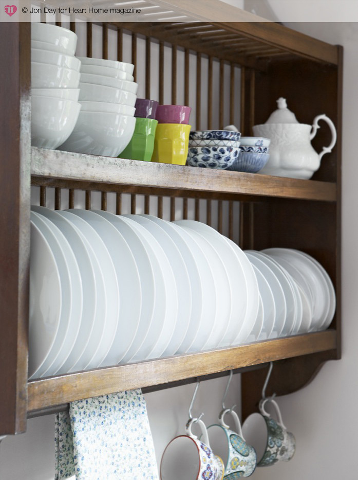 Kitchen Cabinet Plate Rack Kit