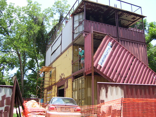 Fox residence shipping container house flickr - Container home blog ...