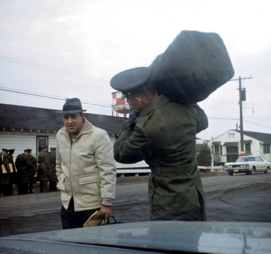 1967-01-07 Me At Ft Dix NJ On My Way To Vietnam