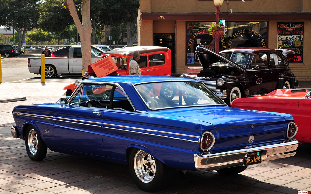 1965 Ford Falcon Futura Sprint Ht Blue Metallic Rvl