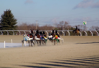 114 - race 8 - Nearing the Turn | by CMCoolidge