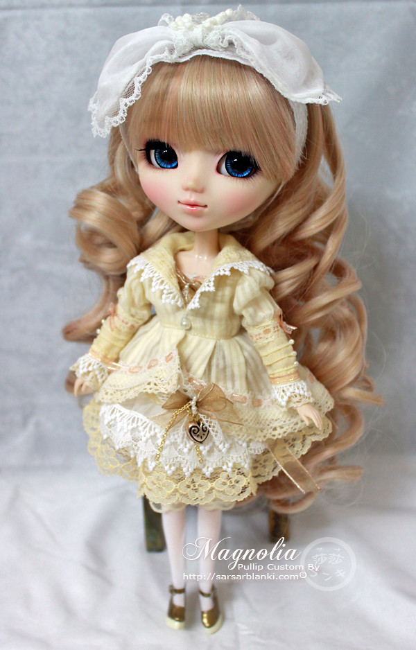 Magnolia - Custom Pullip Doll | This is my first ...