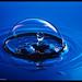 Waterdrop In Bubble