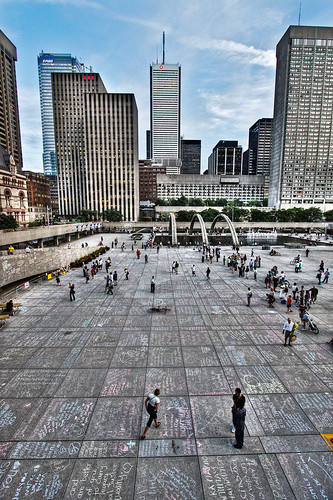 Well Done Toronto! Remembering Jack Layton at Nathan Phillips Square. | by Jackman Chiu