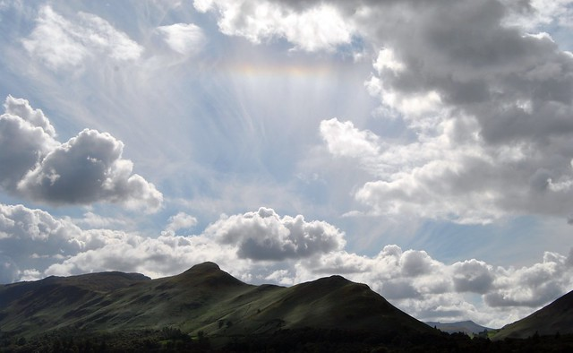 Sky above Derwent Water