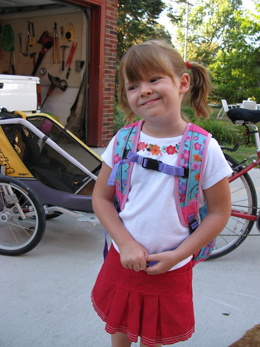 Madelyn's First Day of Kindergarten | by Erin Easterling