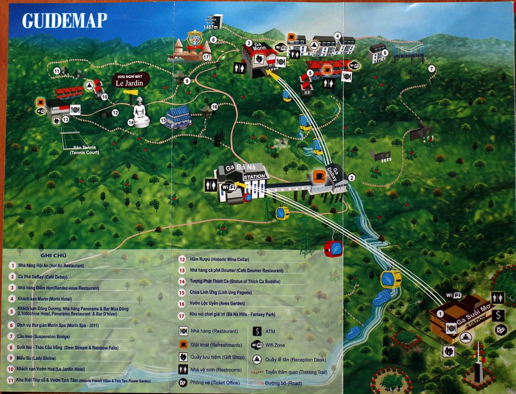 Bana Hill map