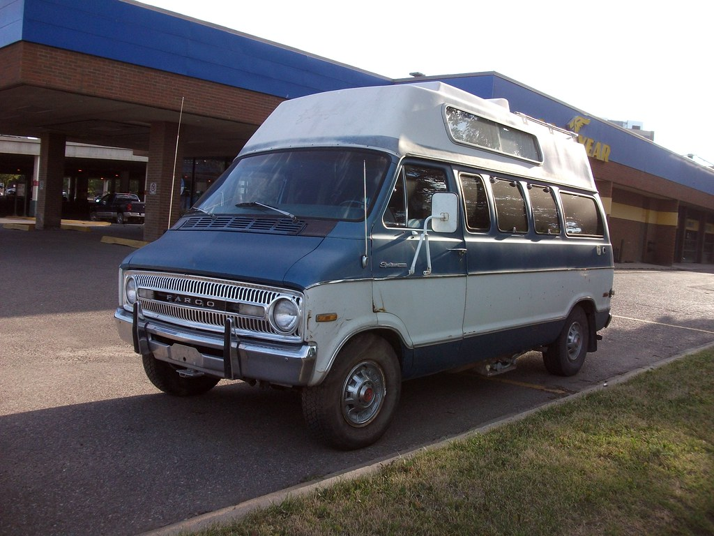 Fargo Sportsman van | In Canada we got Fargo that were re-ba… | Flickr