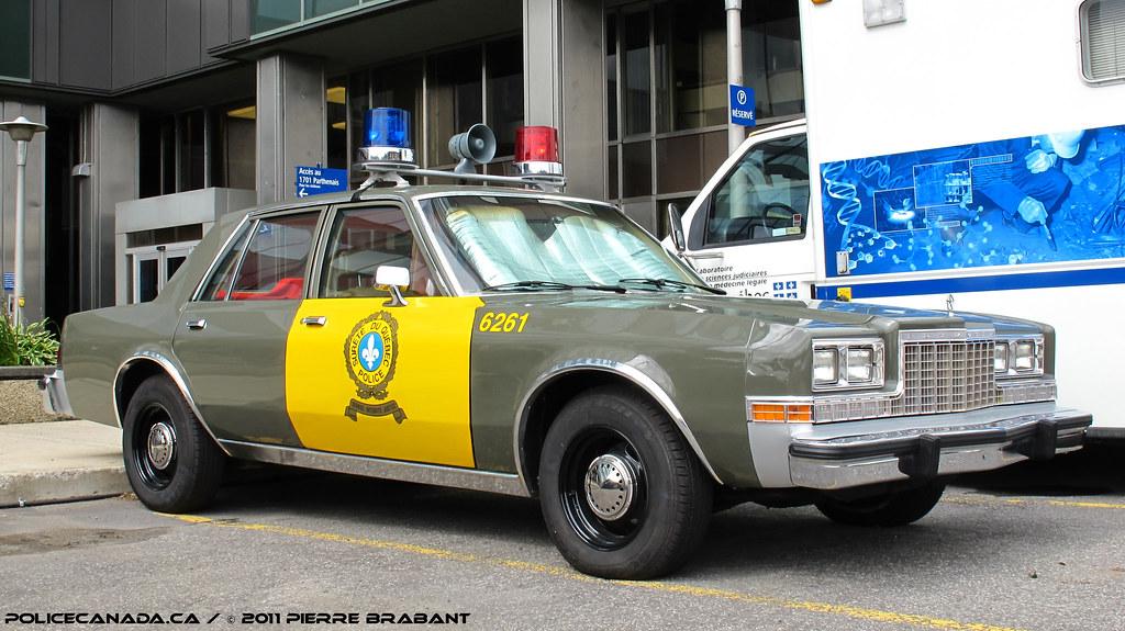 Surete Du Quebec New Cars