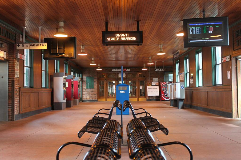 Exterior: Poughkeepsie Train Station Post-Irene