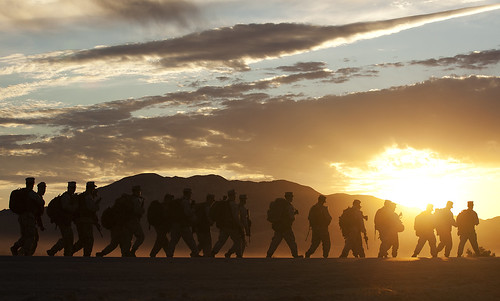 Filling in the gaps: 'America's Battalion' begins final pre-deployment training exercise [Image 1 of 6] | by DVIDSHUB