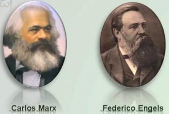 Resultado de imagen para Fotos de Karl Marx y Friedrich Engels