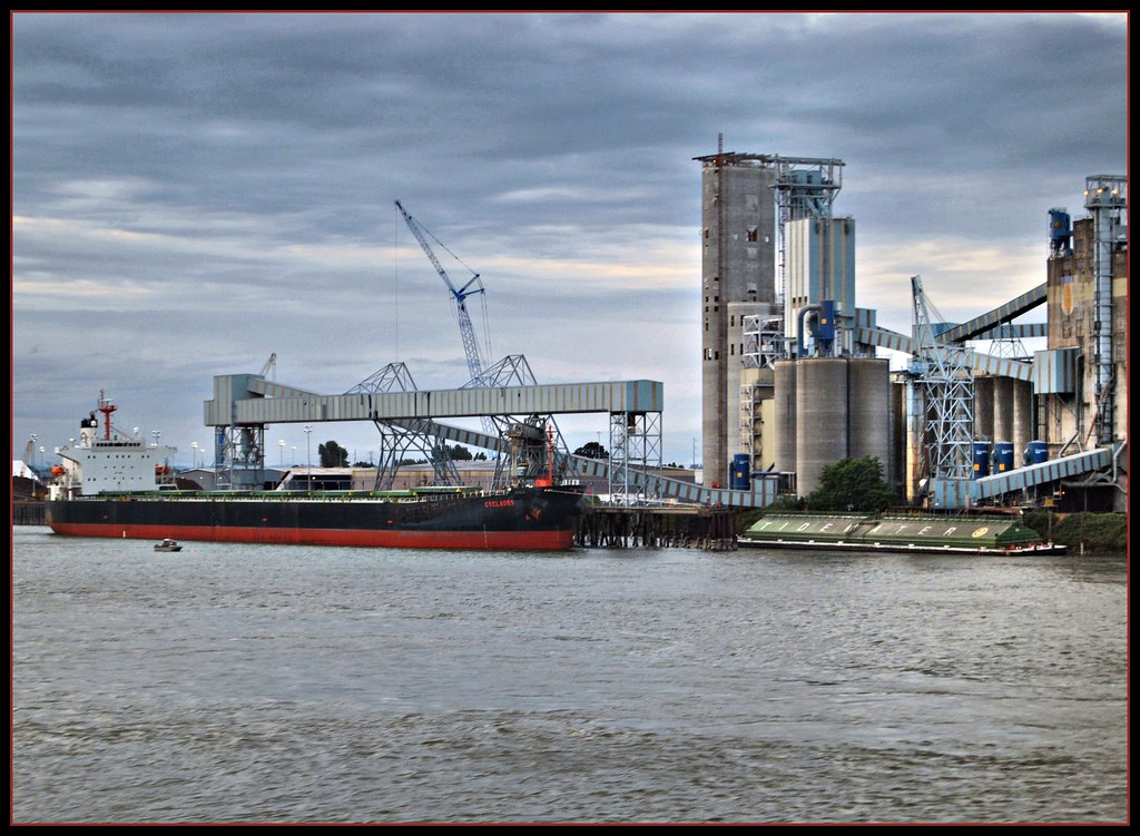 Total Population Of World >> Many rivers to cross | The Port of Vancouver WA, was ...