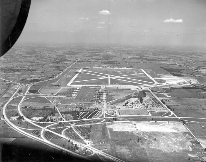 Aerial View Of The Willow Run Plant 1944 Thf24491 Ford