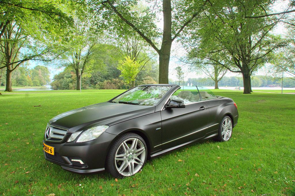 Mercedes E Convertable