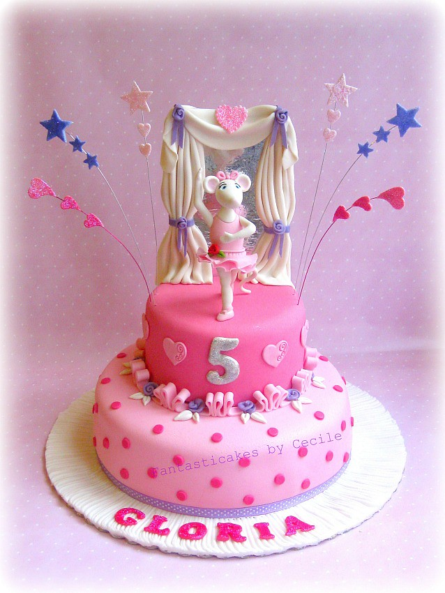Angelina Ballerina Cake Ccile Crabot Flickr
