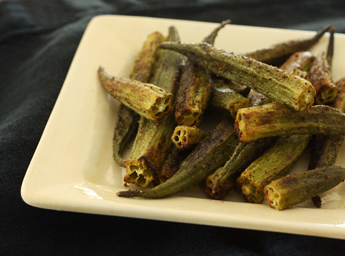 Roasted okra | by Inspire. Create. Bake.