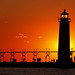 Grand Haven Pier Sunset