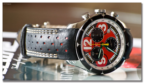 Picture of The Week - 32 Christopher Ward London C70IT Rosso Corsa | by BeastmasterNo2