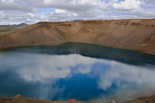 Reflections in the crater | by Marianff