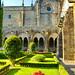 Tui, Galice, Espagne, Cathédrale, Catedral de Santa Maria de Tui 38, le cloître