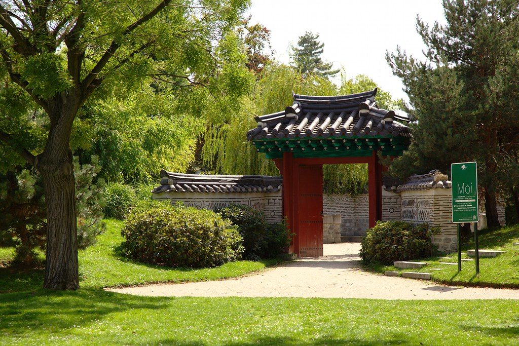 Korean garden the jardin d 39 acclimatation located in the for Bois de boulogne jardin d acclimatation